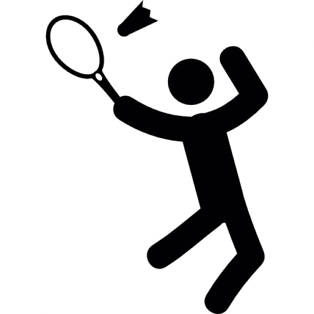 man playing badminton 318 29177